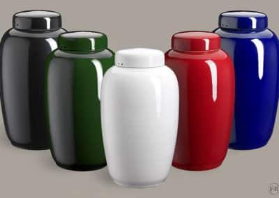 Keramikurne, alle farver - kr. 1150,-